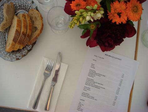 Restaurant Visit Rochelle Canteen in London portrait 11