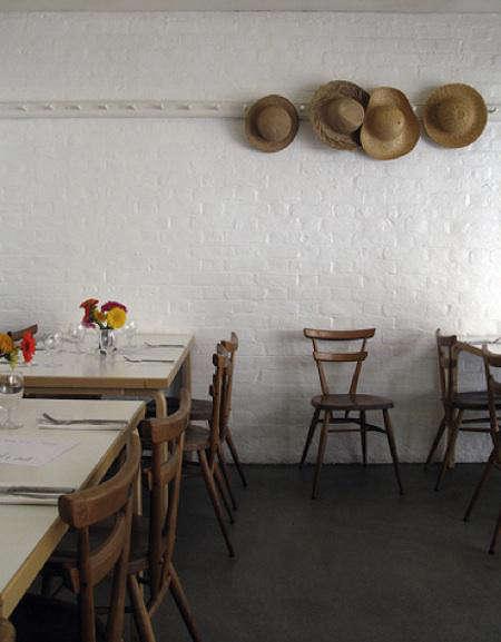 Restaurant Visit Rochelle Canteen in London portrait 8