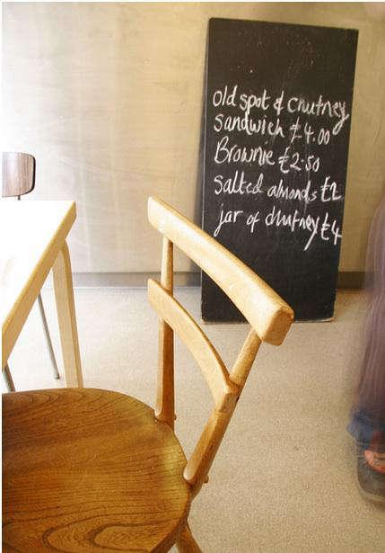 Restaurant Visit Rochelle Canteen in London portrait 13