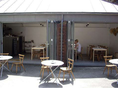 Restaurant Visit Rochelle Canteen in London portrait 6
