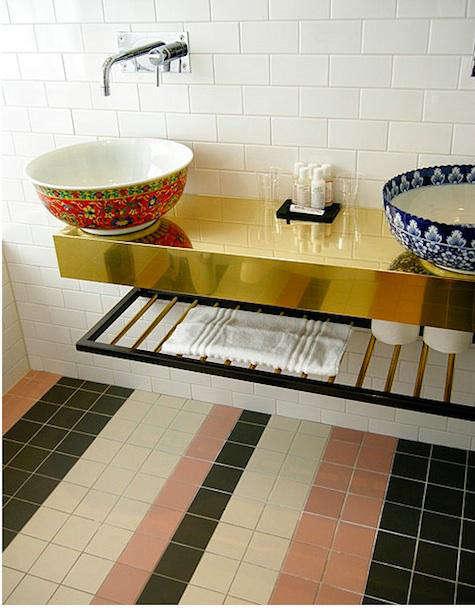story hotel bathroom sinks