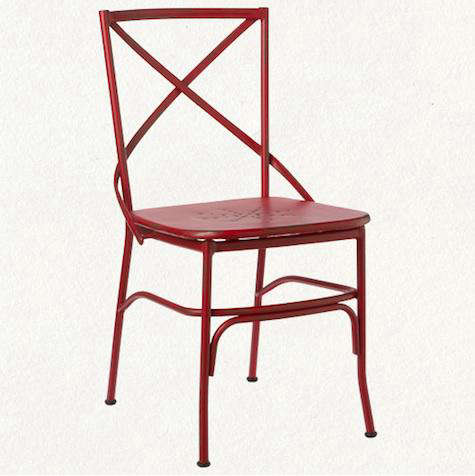 terrain red outdoor chair
