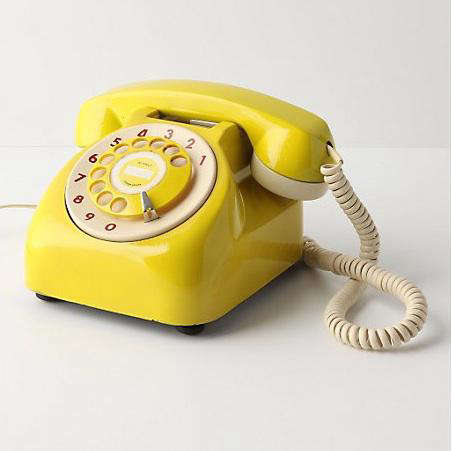 Accessories Vintage Rotary Phone at Anthropologie portrait 3