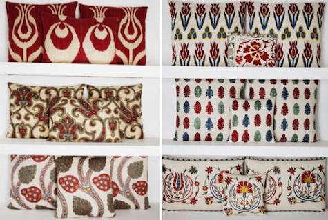 yastik red pillows 10