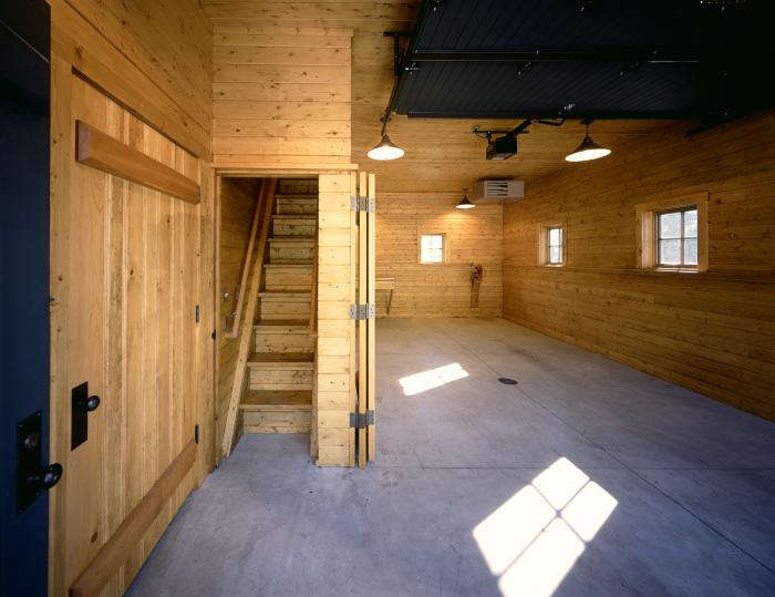 The Architect Is In A Utility Barn as Architectural Moment portrait 7