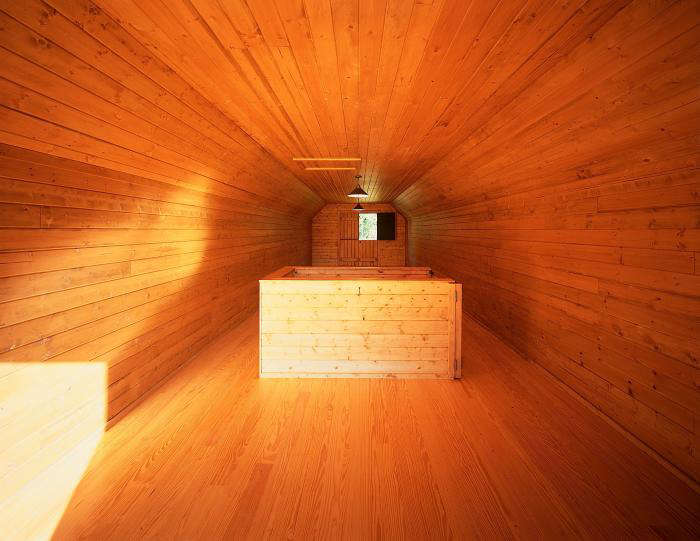 The Architect Is In A Utility Barn as Architectural Moment portrait 8