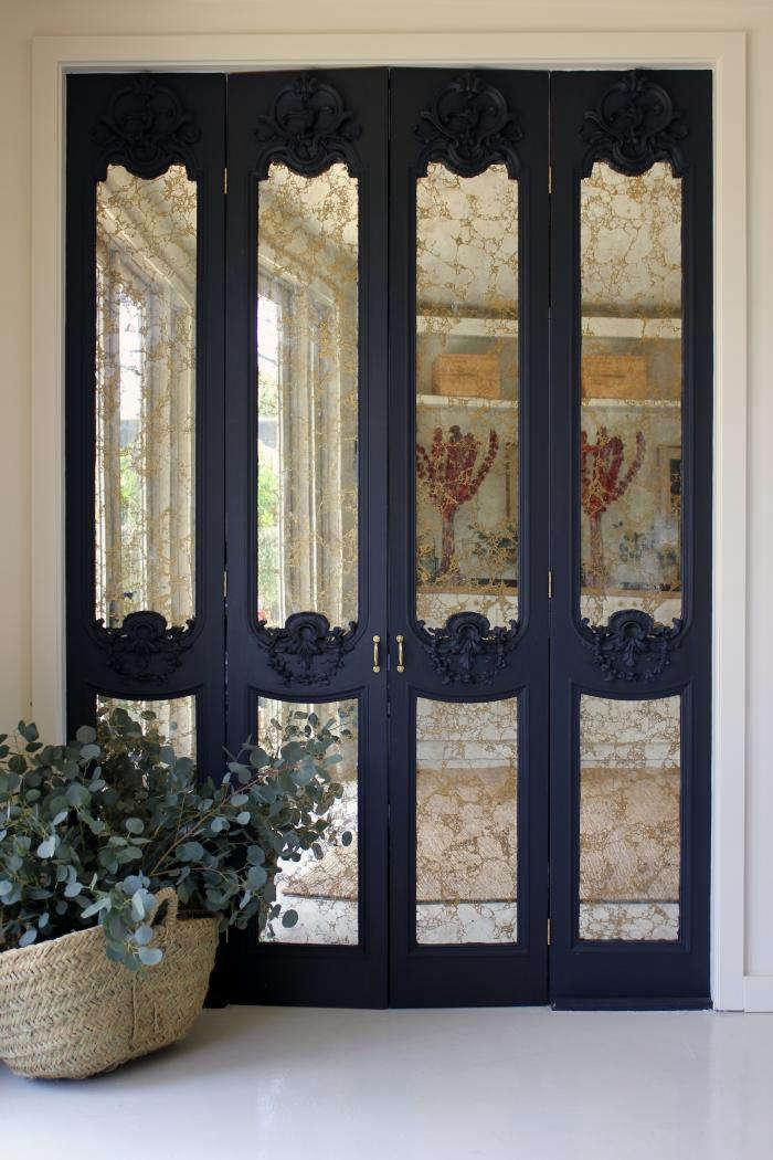 700 disc interiors west la mirrored doors 2
