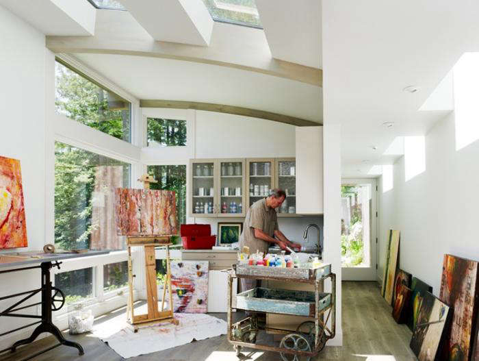 Feldman Architecture Cottages in the Mill Valley Forest portrait 10