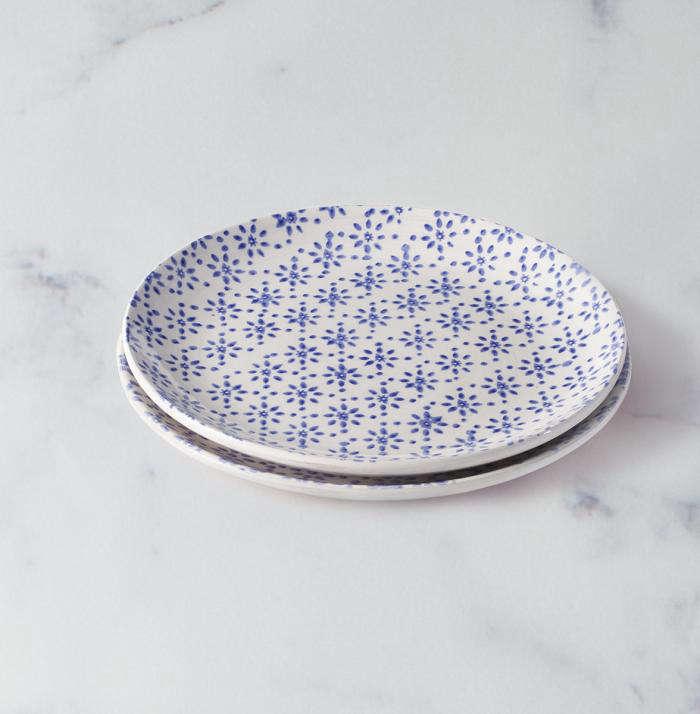 700 justin timberlake floral plate