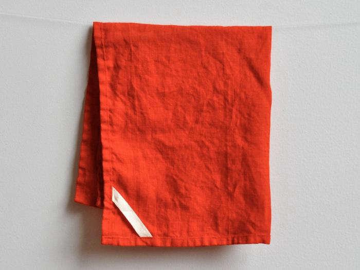 700 linen red etsy towel