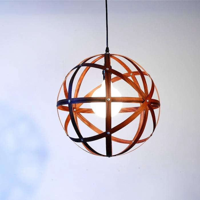 Northern Light The Meridian Pendant from Propellor Design portrait 3