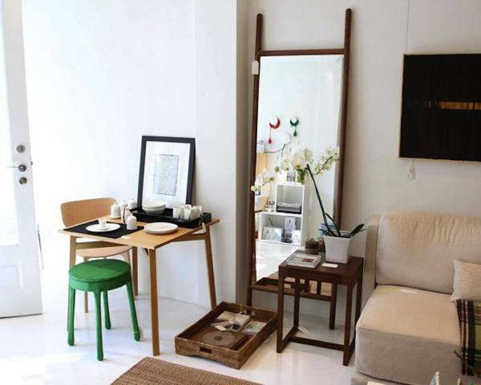 700 small spaces table