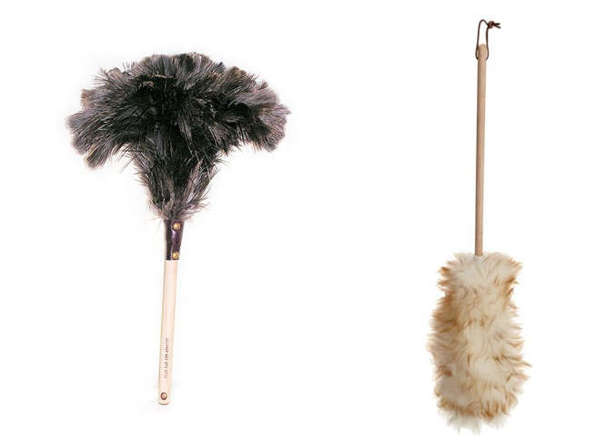 feather and wool dusters
