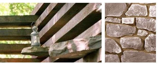 limestone collage