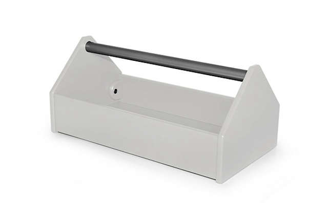 loll tool caddy white
