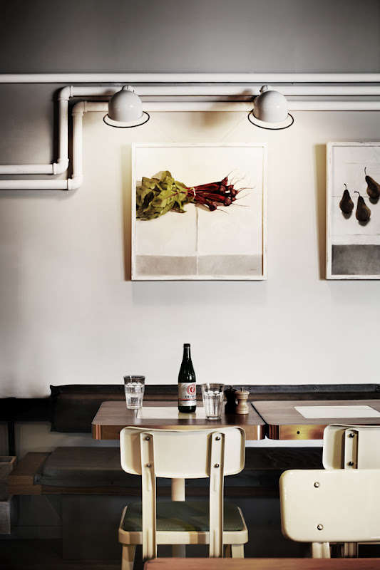 Industrial Chic in Melbourne The Outpost Dining Room portrait 4