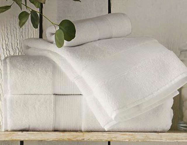pb 820 white towels