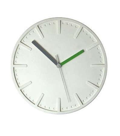 pottinger cole polymer clock white