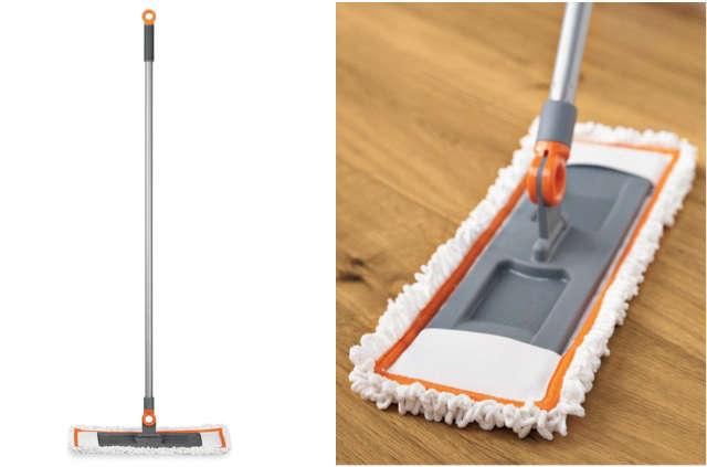swivel wet dry mop