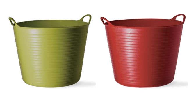 tubtrugs medium buckets red green