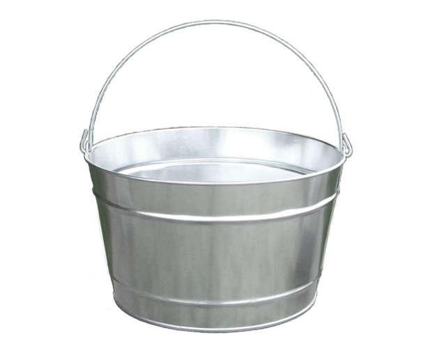wayfair galvanized steel bucket