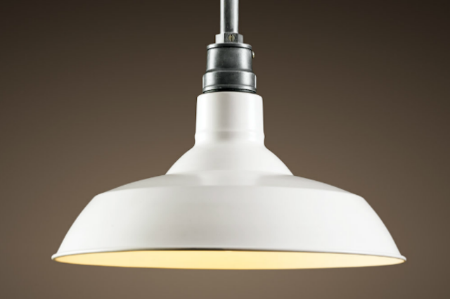 white barn light restoration hardware