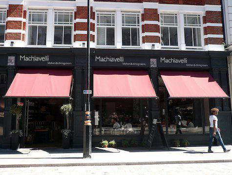 Restaurant Visit Machiavelli in London portrait 3