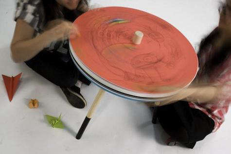 come draw spin table