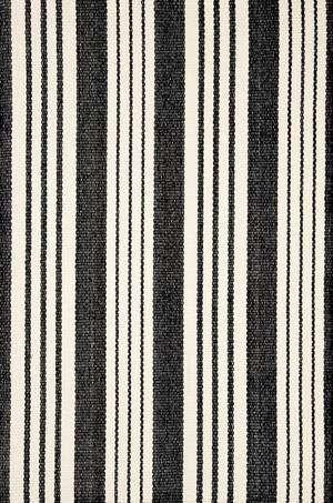 dash albert black white rug