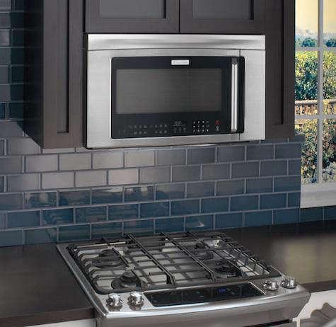 electrolux microwave blue tile