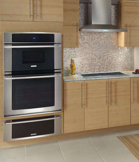 electrolux wall oven stainless tiles