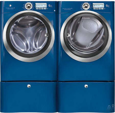 electrolux washer dryer blue