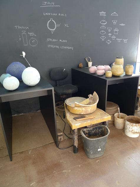 silverman studio pink pot