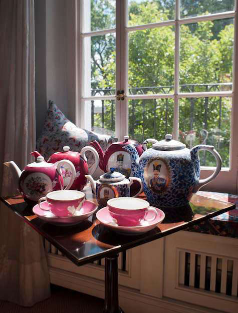 House Call Tissus Tartares in London portrait 9