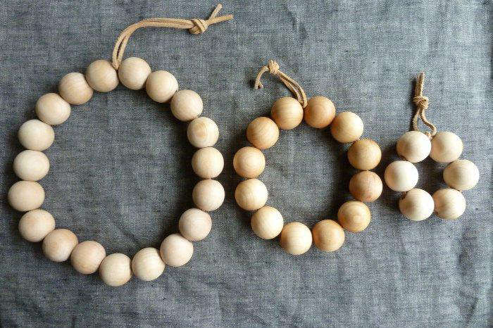 wooden  20  bead  20  trivet  20  1
