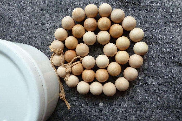 wooden  20  bead  20  trivet  20  3