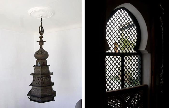 700 700 hotel nord pinus hanging moroccan light and window