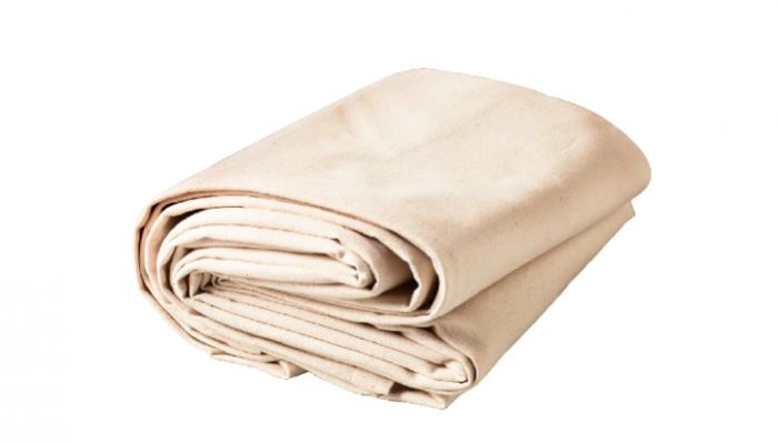 700 heavy duty thick canvas drop cloth natural