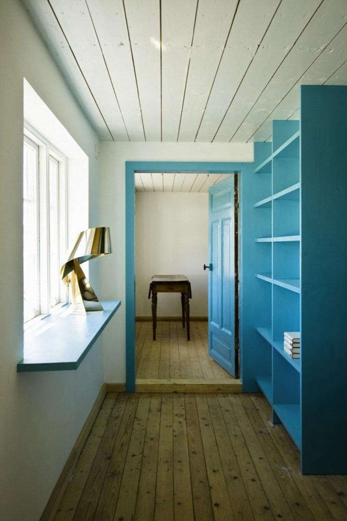 Shocking Color in a Swedish Summer House portrait 10