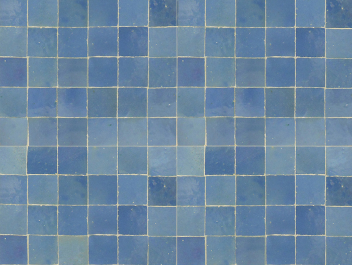 700 mosaic house light blue large photo tile