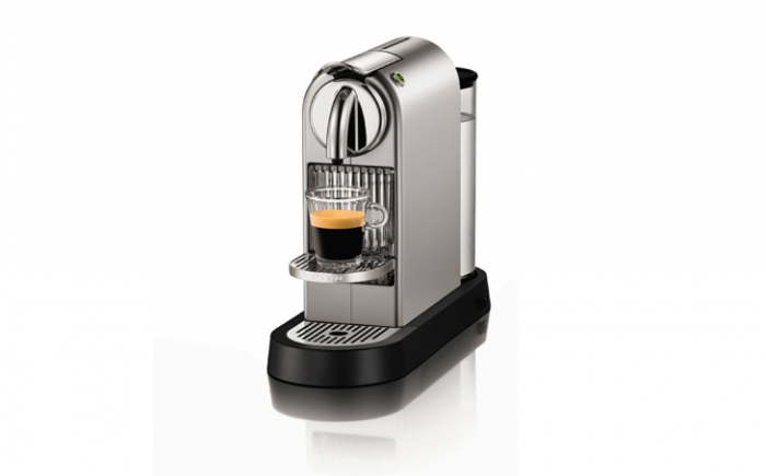 700 nespresso silver chrome