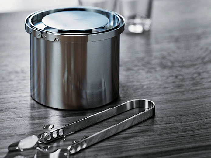aj cylinda ice bucket in situ