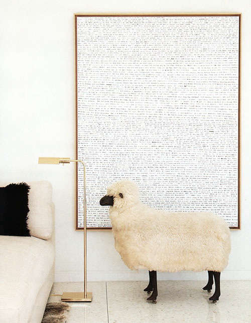 Design Sleuth LalannesStyle Sheep as Decor portrait 3