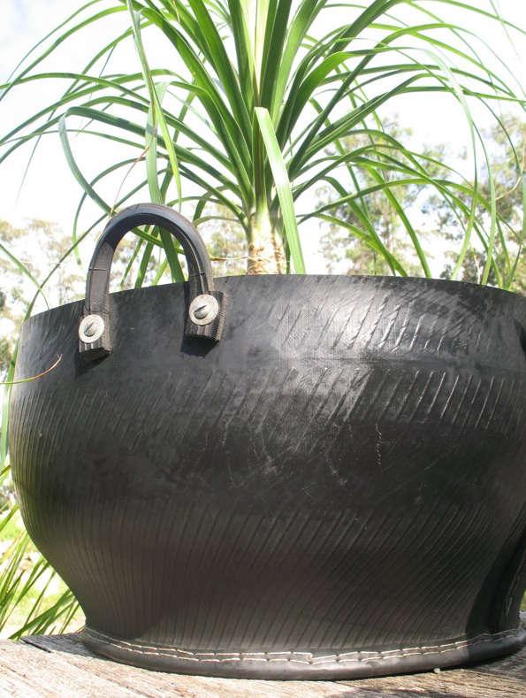 recycled tire pot australia