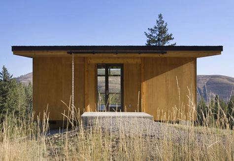 Architect Visit Pine Forest Cabin by Balance Associates in Seattle portrait 4