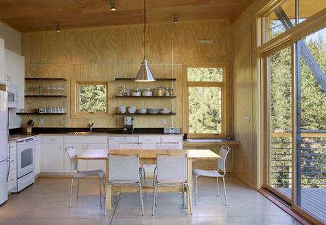 Architect Visit Pine Forest Cabin by Balance Associates in Seattle portrait 6