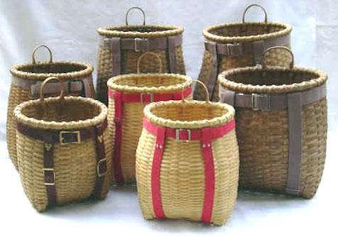 Storage Woven Adirondack Pack Baskets portrait 6