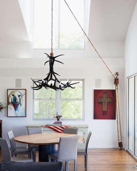 chandelier pulley make studio