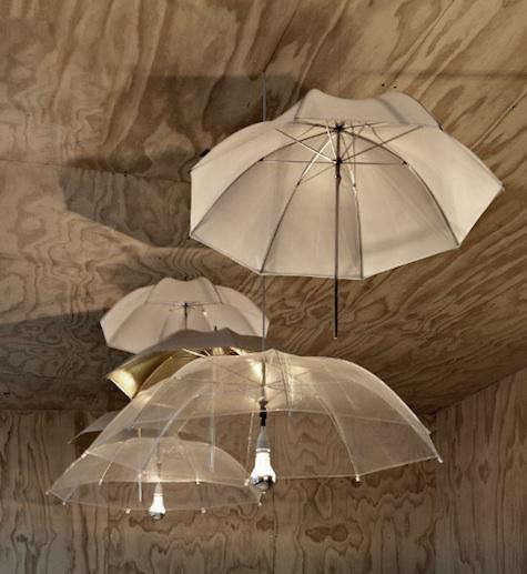 Design Sleuth Umbrella as Lighting Fixture portrait 4