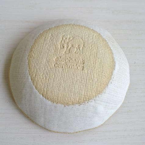 elephant ceramics plate back